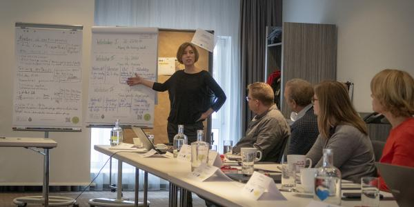 Ms. Heidi Tuhkanen in CASCADE WP 3 workshop in Poland